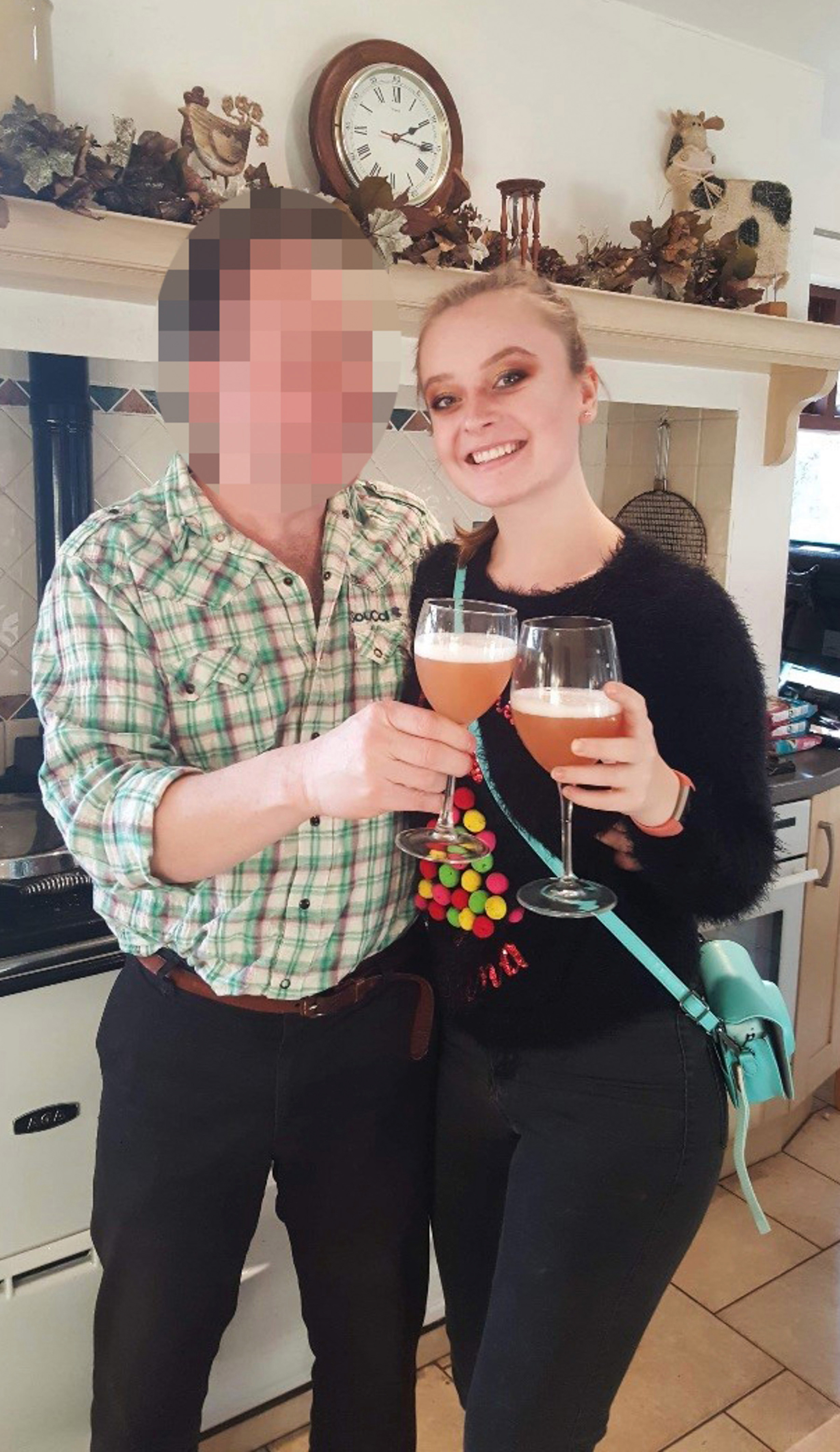A date with one of her sugar daddies would normally consist of dinner and drinks - which costs upwards of £100