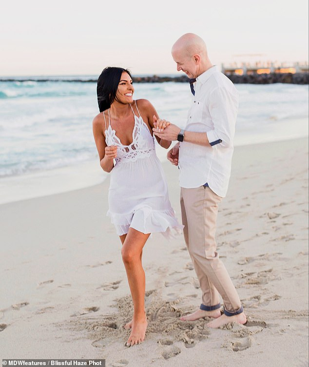 Controversy: Despite her family's shock over their 23-year age gap, Sarai and Joel got engaged after just one month of dating - and they tied the knot less than a year later