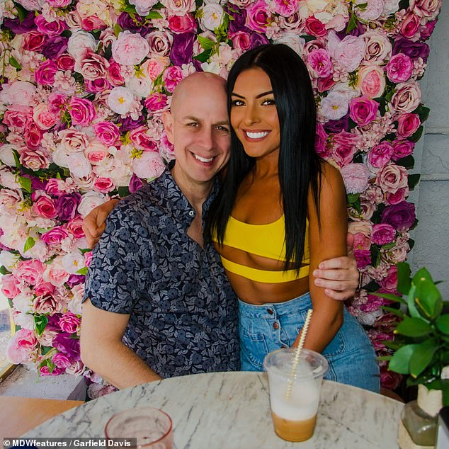 Doubts: Joel admits that he was worried that Sarai was just going through a phase of dating older men when they first met